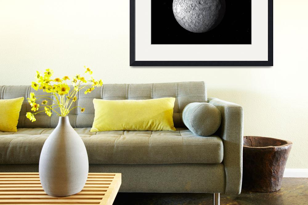 """""""Artists concept of Ceres, a large asteroid&quot  by stocktrekimages"""
