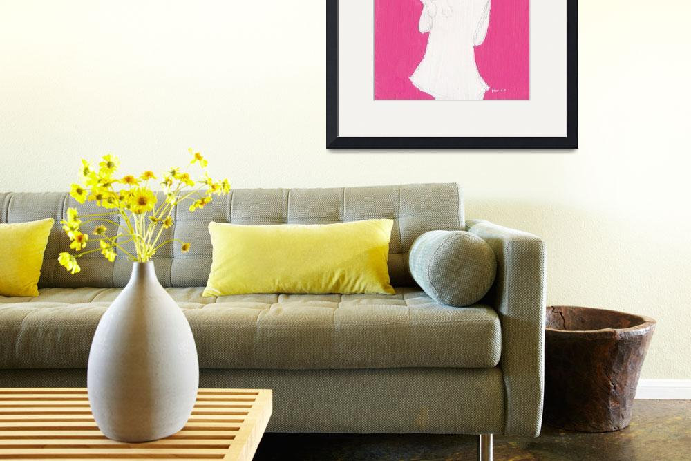"""""""Pink_Girl_Cat&quot  (2013) by francisfung"""