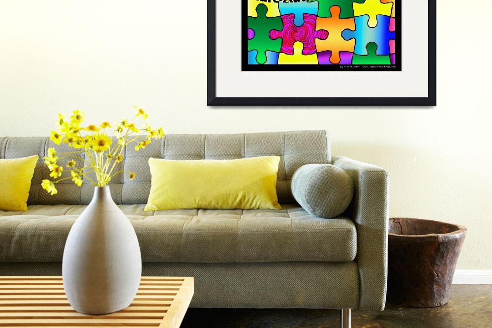 """""""Cure Autism With Love&quot  (2012) by tararichter"""