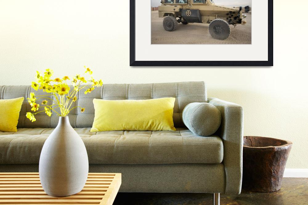 """""""RG31 Nyala armored vehicle&quot  by stocktrekimages"""