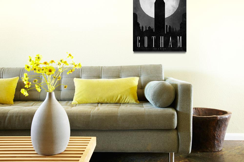 """""""Gotham&quot  (2010) by JustinVG"""