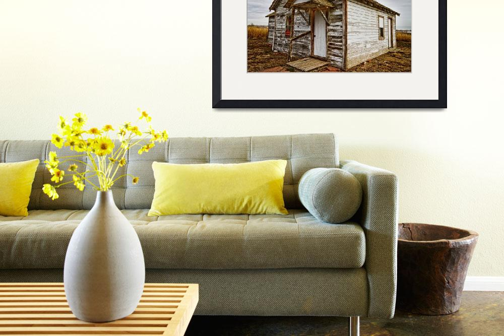 """Old Rustic Rural Country Farm House&quot  (2013) by lightningman"