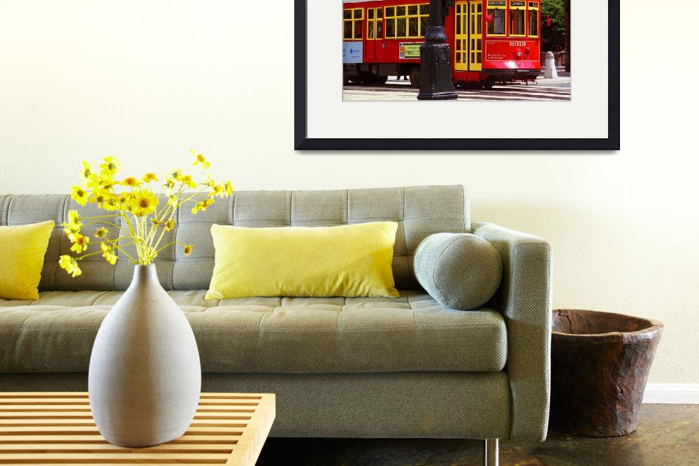 """""""New Orleans Trolley&quot  (2004) by Ffooter"""