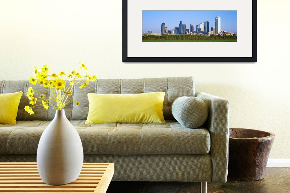 """""""Skyline Dallas TX&quot  by Panoramic_Images"""