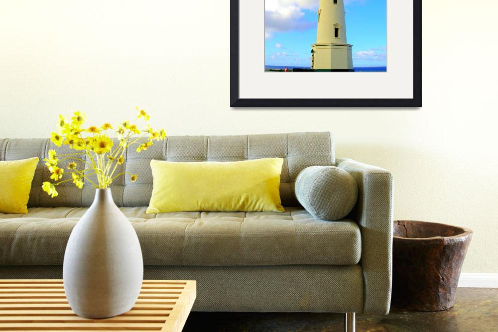 """California Lighthouse, Aruba&quot  (2008) by naggeneen"