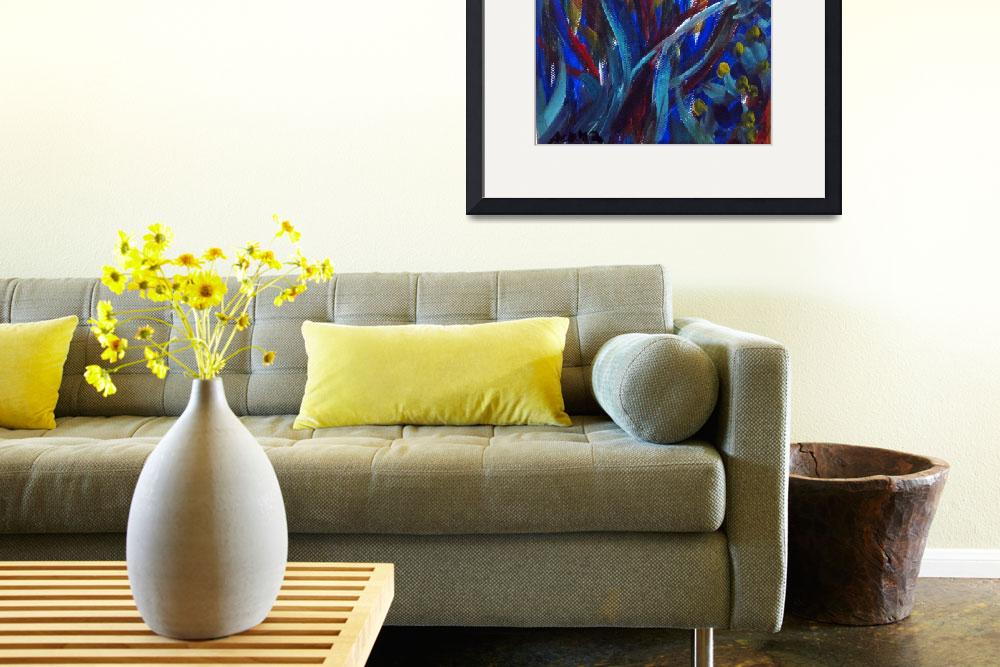 """""""Energy of Life&quot  (2012) by artbyangie"""