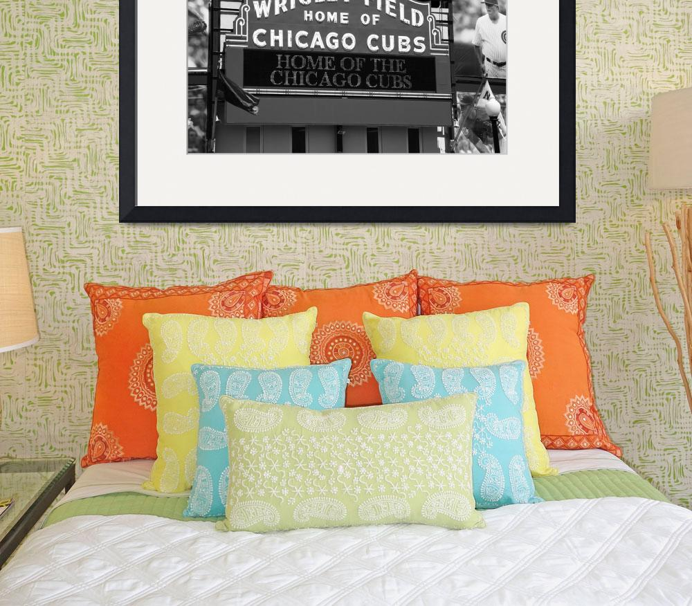 """""""Chicago Cubs - Wrigley Field""""  (2010) by Ffooter"""