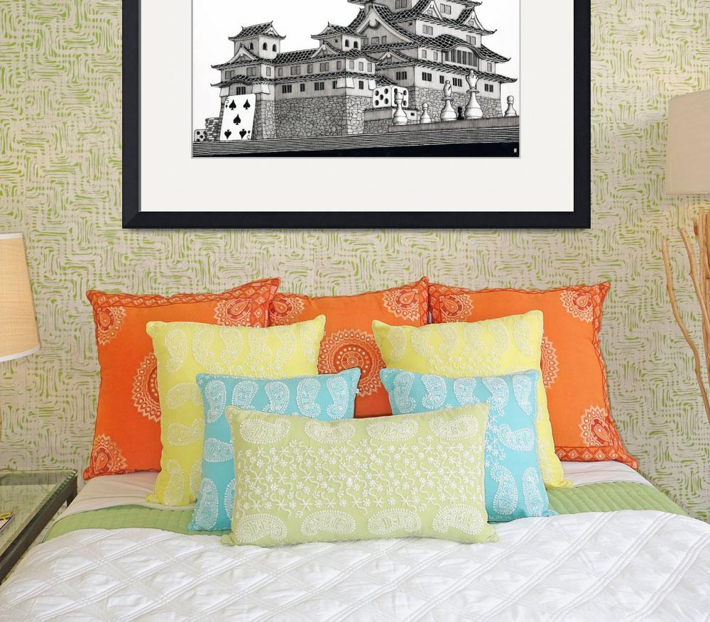 """""""Himeji Castle&quot  (2007) by iroot"""