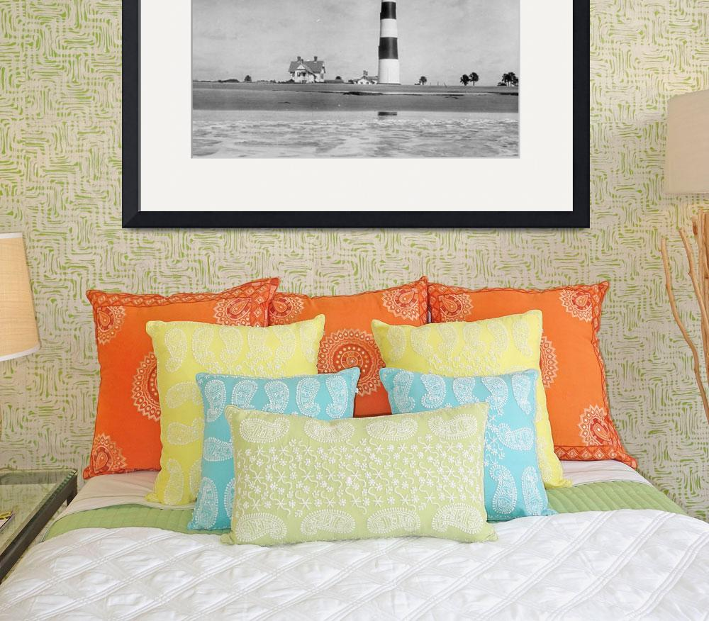 """""""Charleston Lighthouse&quot  by Alleycatshirts"""