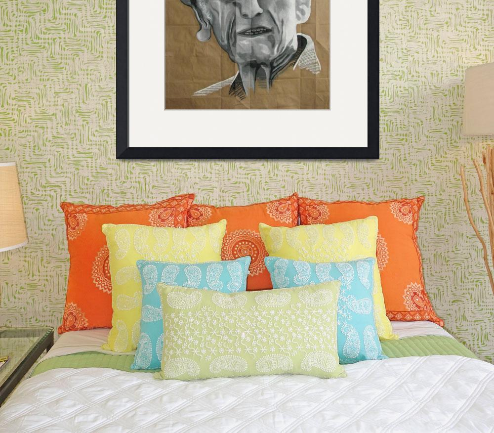 """Jacques Cousteau&quot  (2008) by DevonGrey"
