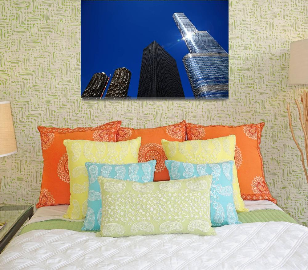 """""""Chicago Skyscrapers 2010""""  (2010) by Ffooter"""
