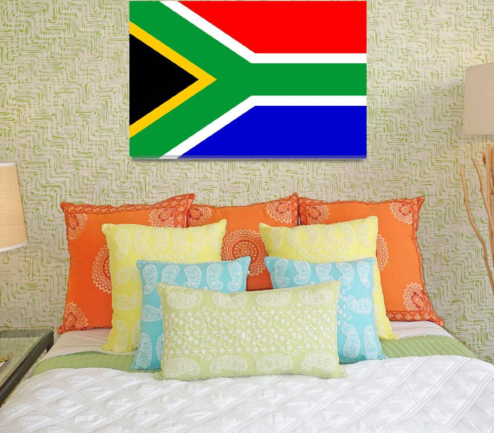 """Anonymous_Flag_of_South_Africa""  by ArgosDesigns"