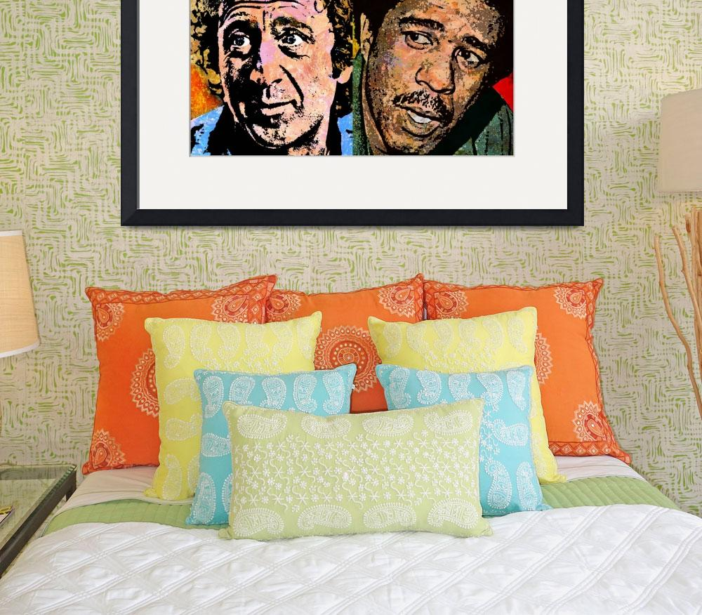 """GENE WILDER AND RICHARD PRYOR&quot  (2016) by thegriffinpassant"