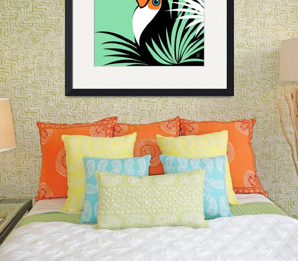 """""""Stylized Toco Toucan&quot  by waterart"""