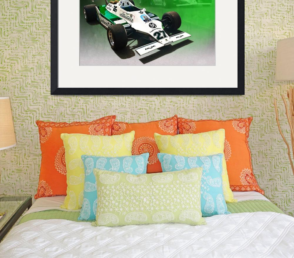 """""""Williams FW07/04&quot  (2012) by StuartRow"""