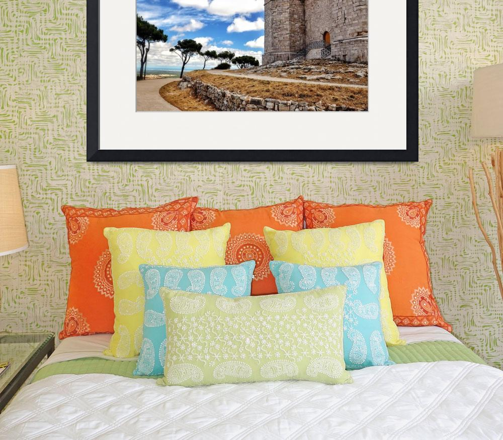"""""""Castel del Monte on a Summer Morning&quot  (2010) by blissadventure"""