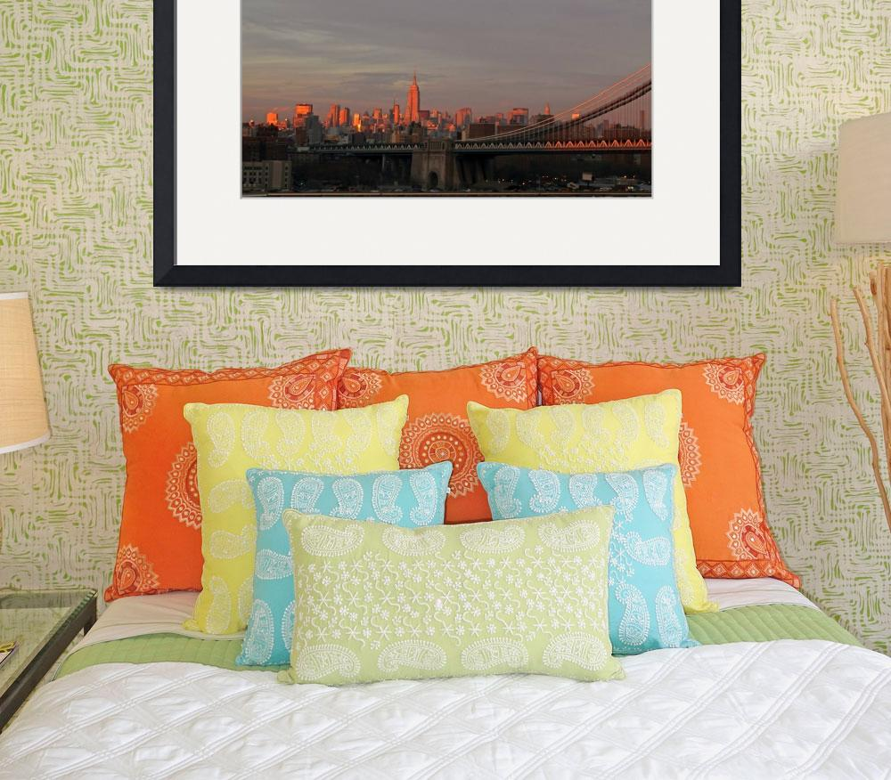 """Manhattan Skyline&quot  (2012) by shelshots"