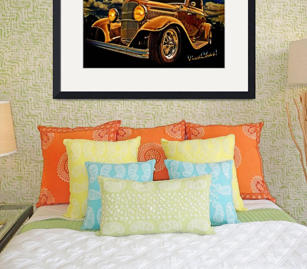 """32 Ford Three Window Coupe and the Golden Hour&quot  (2012) by chassinklier"