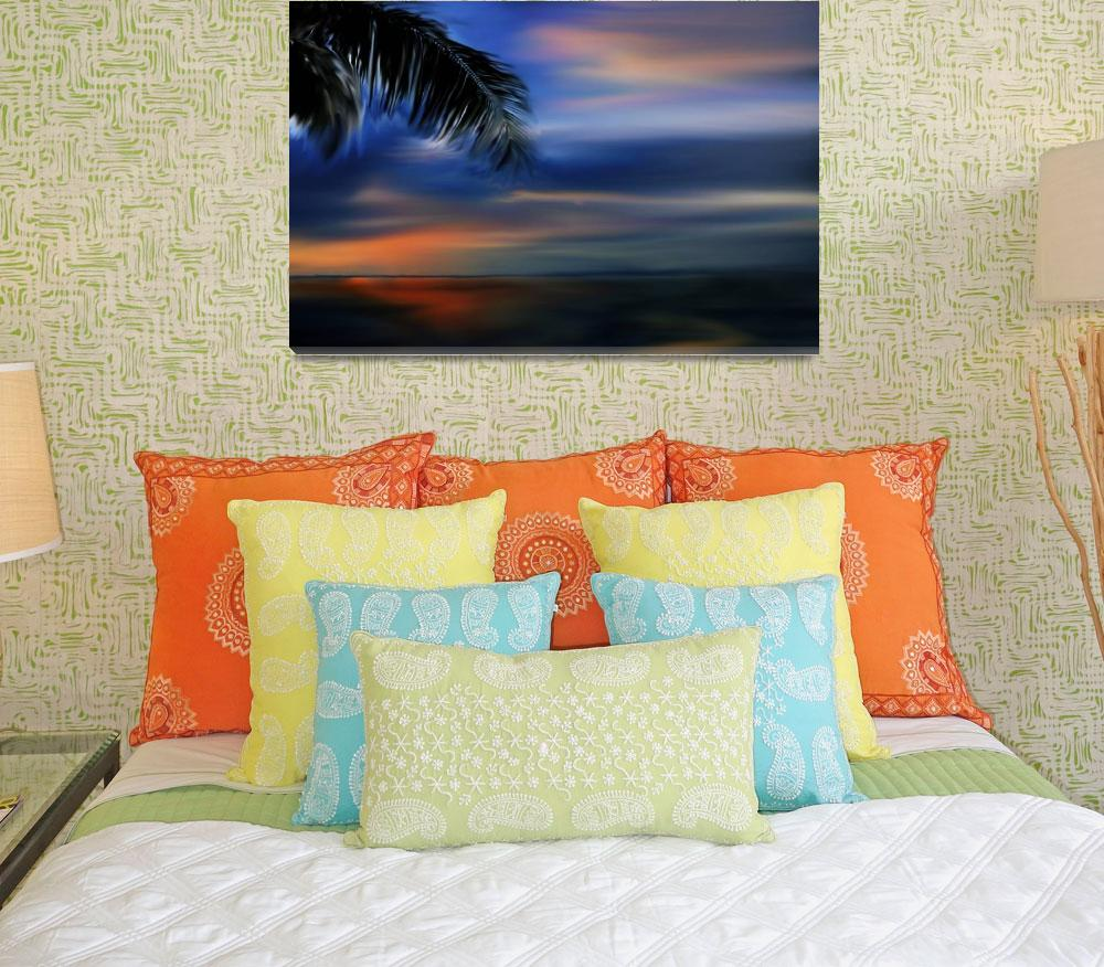 """Tropical Sunset (large)&quot  (2008) by milannadesign"