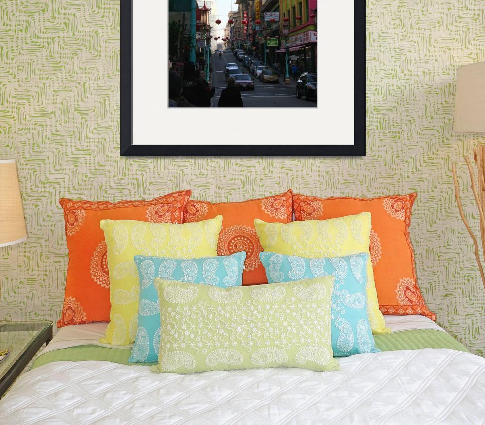 """Grant Street,Chinatown&quot  (2009) by JewelsOfDenile"