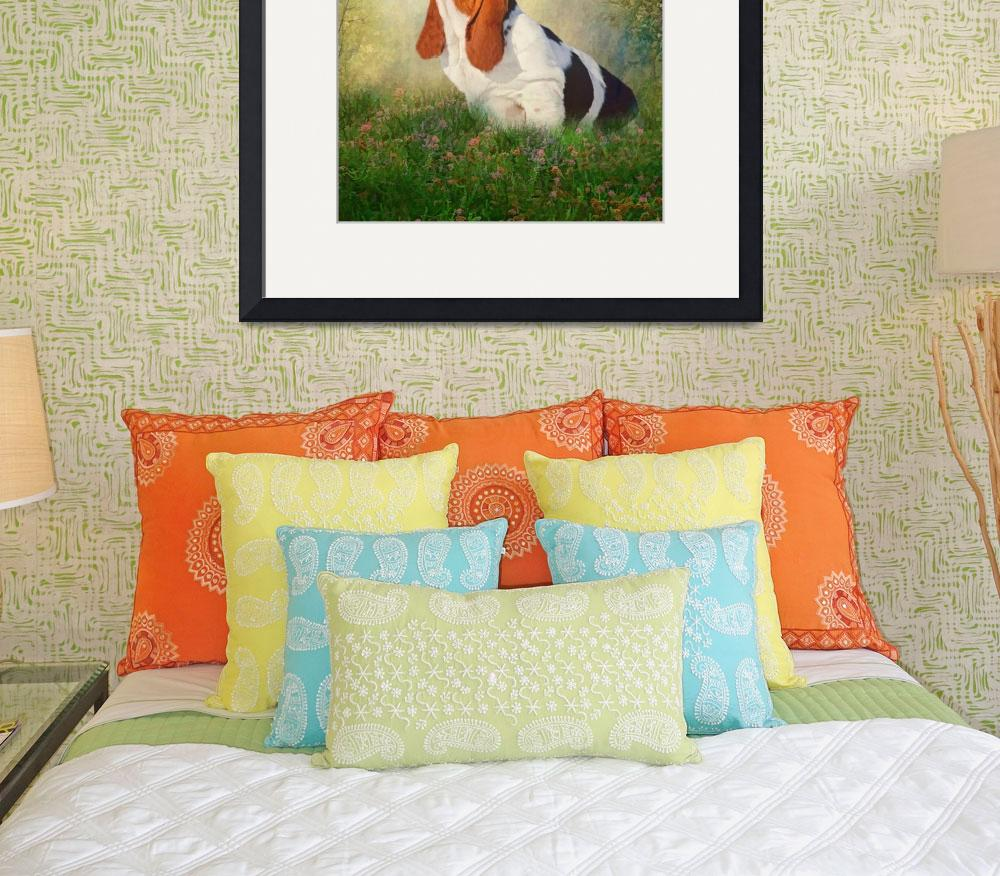 """""""Butterfly Basset&quot  (2014) by TrudiSimmonds"""