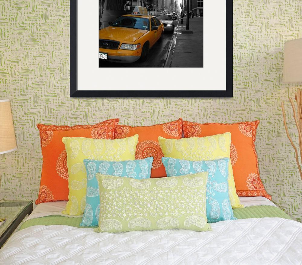 """""""Yellow cab - New York&quot  (2008) by artforcancer"""