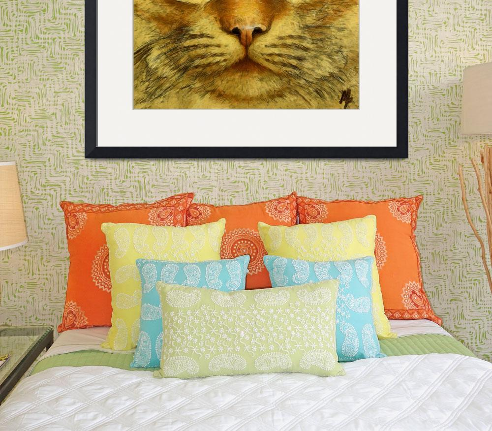 """""""The franch orange cat&quot  (2012) by DragicaMickiFortuna"""
