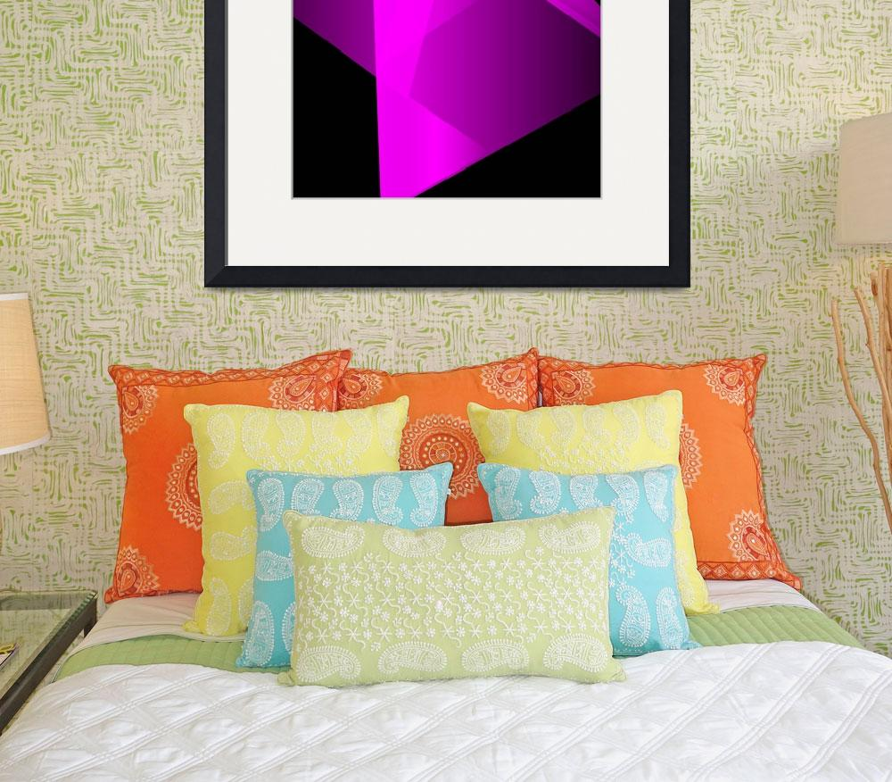 """""""A Magenta Frame of Mind&quot  (2014) by CJMoy"""