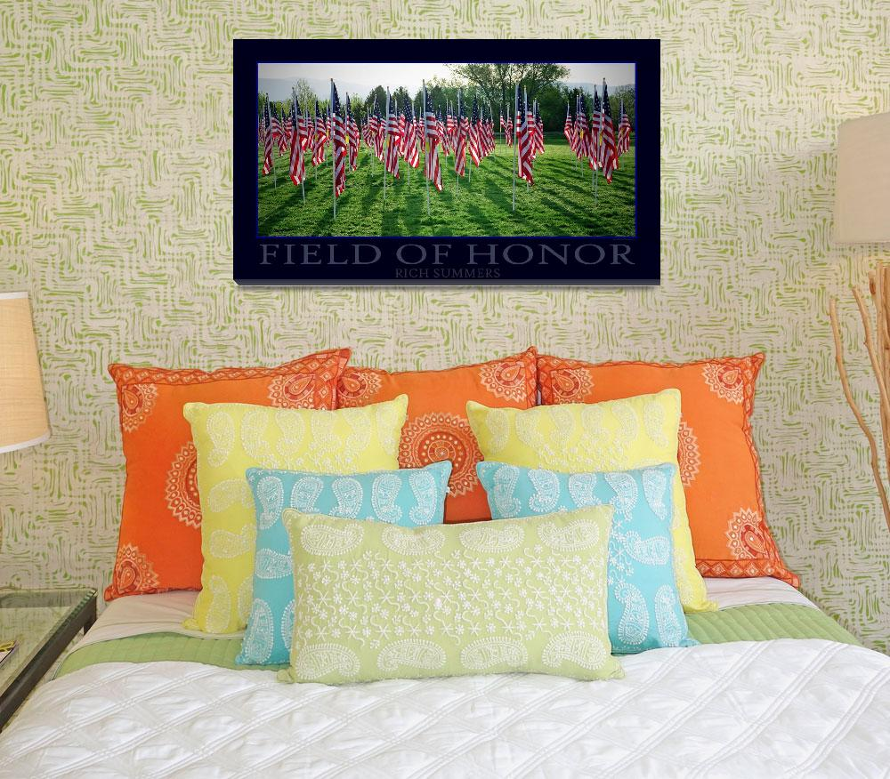 """""""Field Of Honor""""  (2010) by rsummers"""