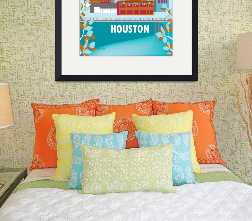 """""""Houston,Texas&quot  (2011) by loosepetals"""