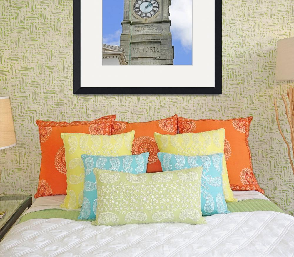 """The Guild Hall Clock Tower, Newport (24097-RDA)&quot  (2010) by rodjohnson"