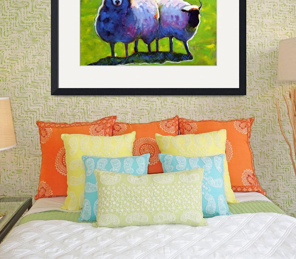 """""""Sheep&quot  by AnnTuck"""