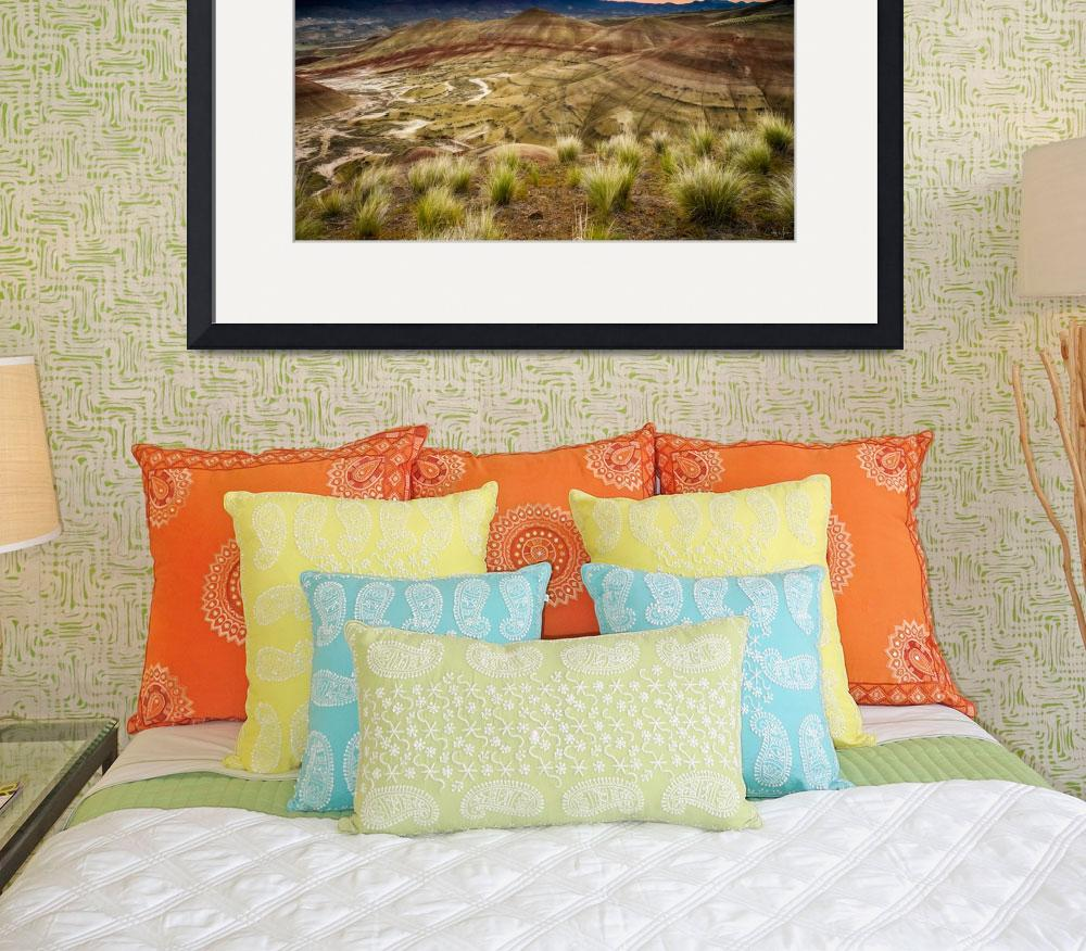"""""""Painted Hills Sunrise by Cody York-1470&quot  by cyorkphoto"""