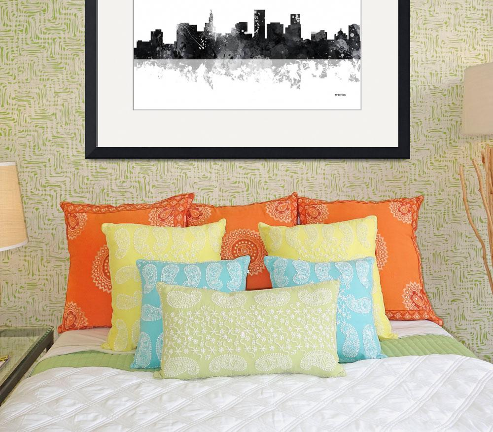 """St Paul Minnesota Skyline""  by MarleneWatson"