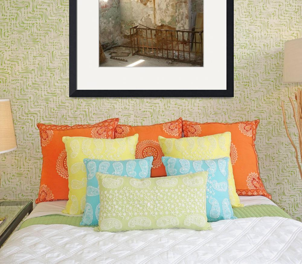 """""""Eastern State Penitentiary Room&quot  (2009) by tehrhardt"""