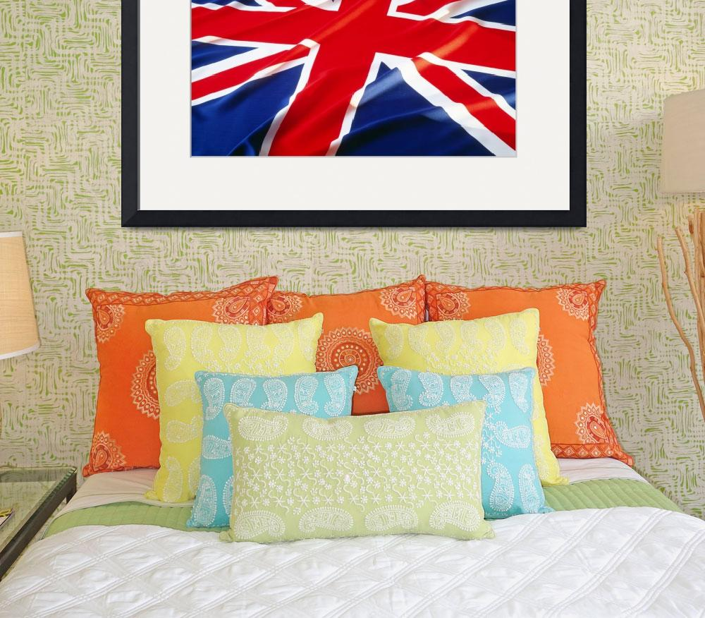 """""""The Union Jack Flag of the United Kingdom&quot  by Panoramic_Images"""