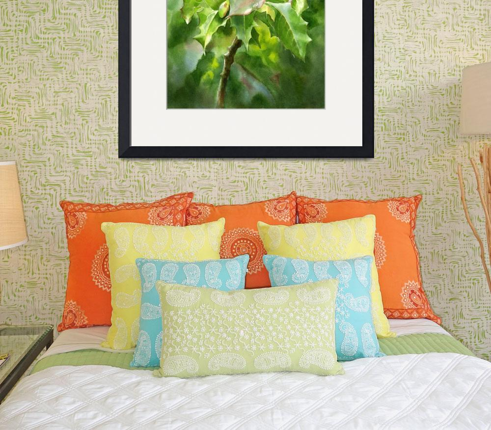 """""""oregon grape painting copy edit +brit+cont""""  by Pacific-NW-Watercolors"""