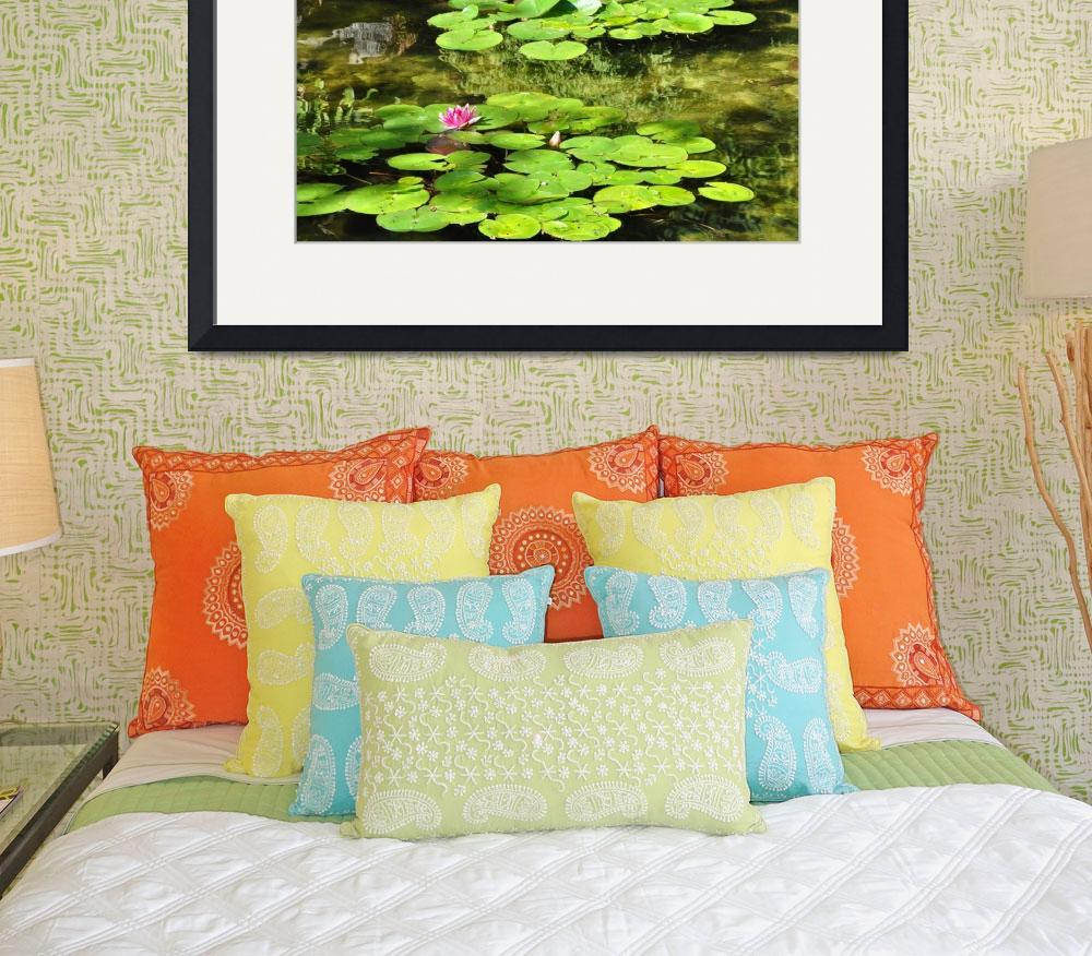 """""""Lilly Pads""""  (2011) by Kirtdtisdale"""
