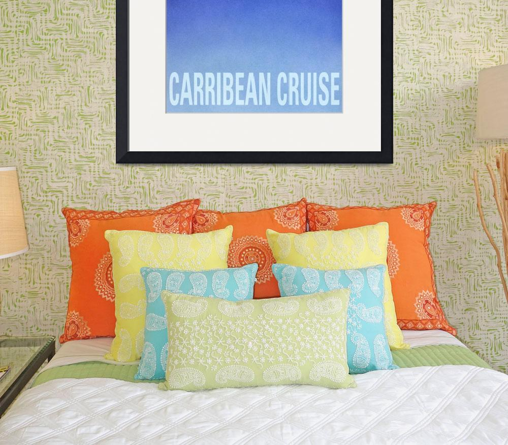 """""""Carribean Cruise poster&quot  (1994) by cocomasuda"""