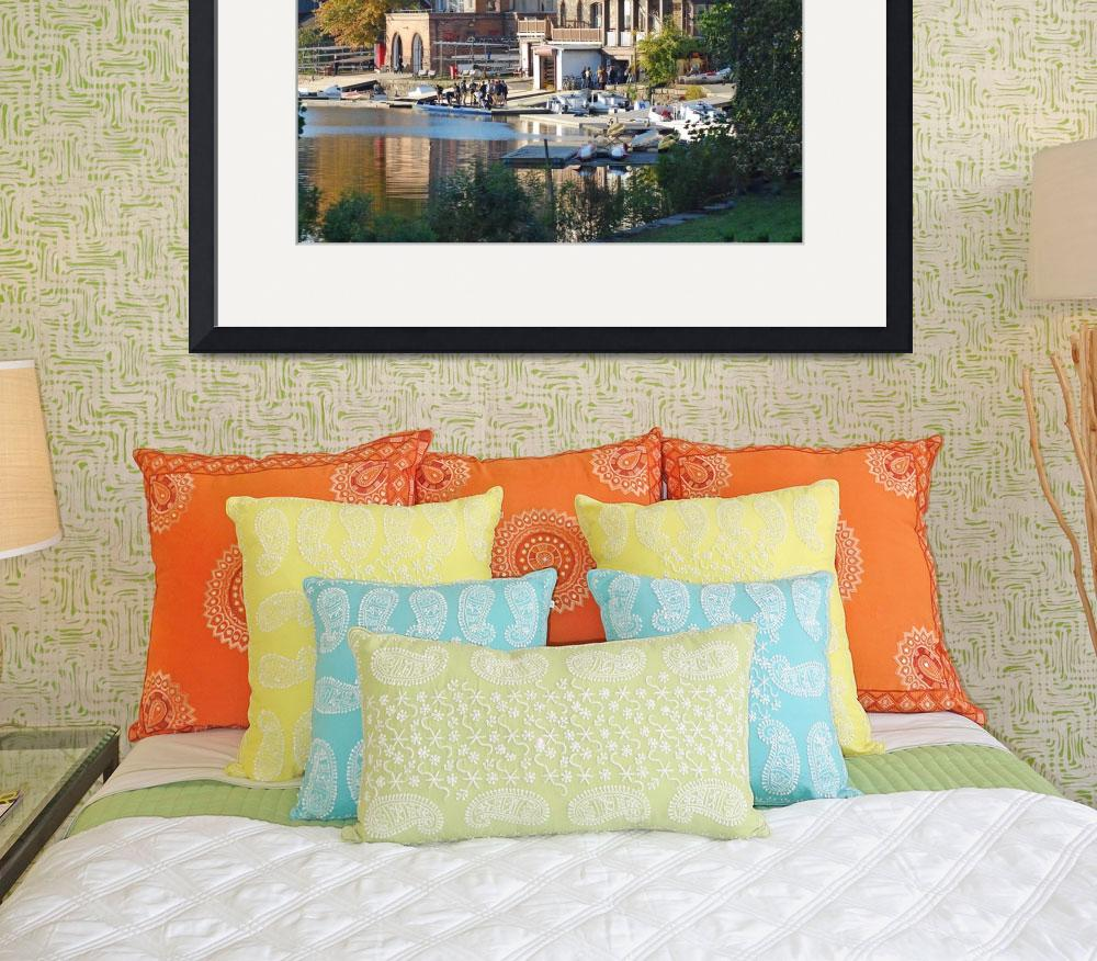 """""""Boathouse Row&quot  by jcarcreations"""