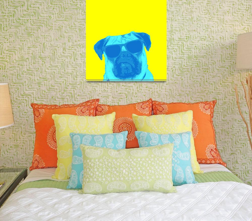"""""""Party Pug""""  (2011) by DogHistory"""