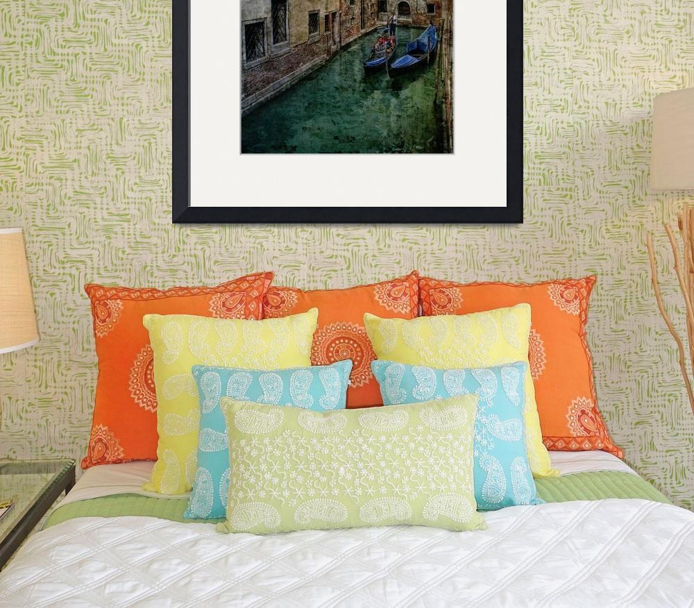 """""""Venice Backwater&quot  (2008) by AnnG"""