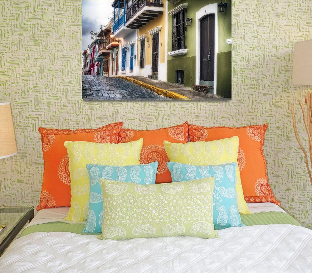 """""""Old San Juan Street Charm I&quot  (2014) by George_Oze"""