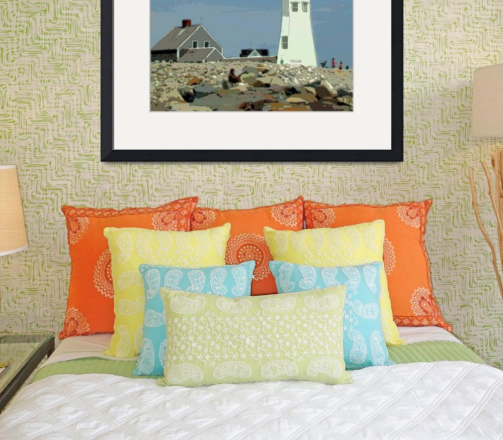 """""""Old Scituate Lighthouse&quot  by EdgewaterGallery"""