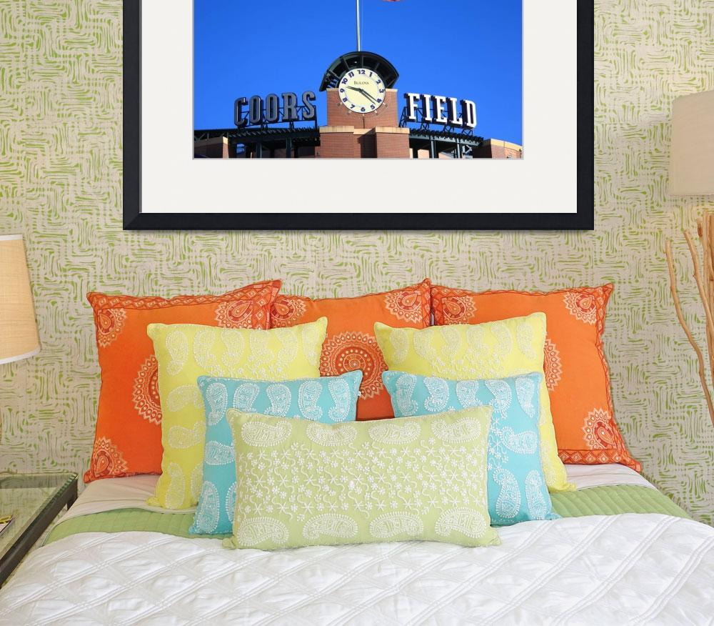 """""""Coors Field - Colorado Rockies""""  (2009) by Ffooter"""