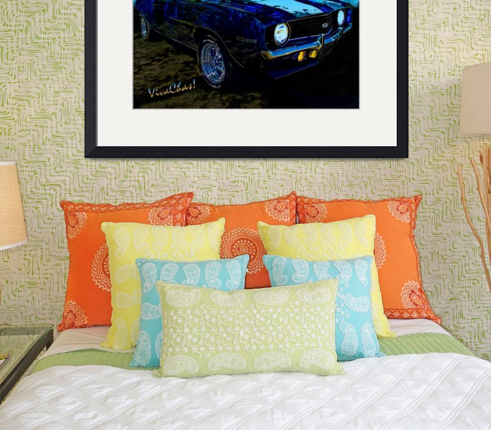 """""""Camaro In Moonglow&quot  (2012) by chassinklier"""