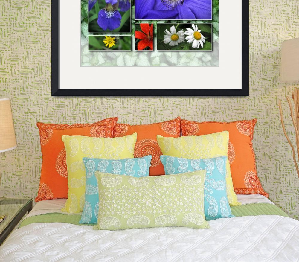 """""""Floral Poster&quot  (2010) by LightWorks"""