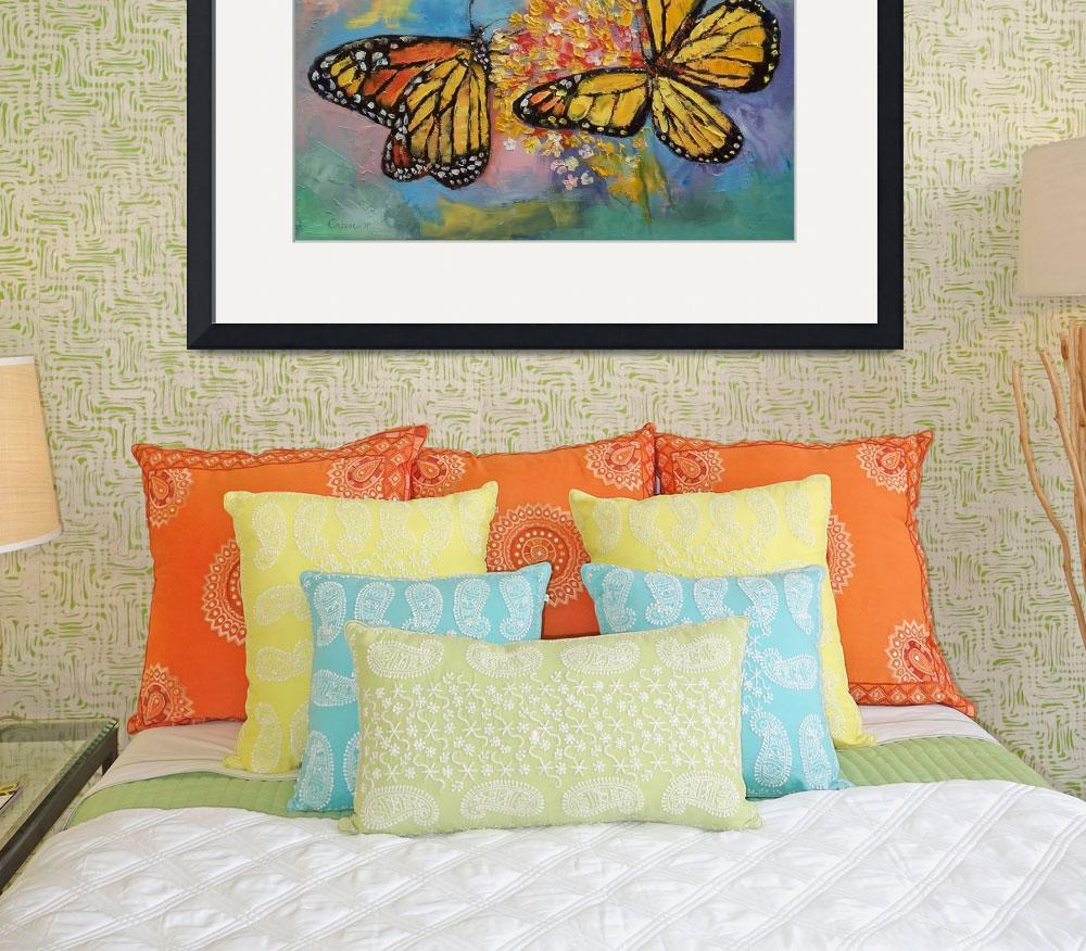 """""""Monarch Butterflies&quot  by creese"""