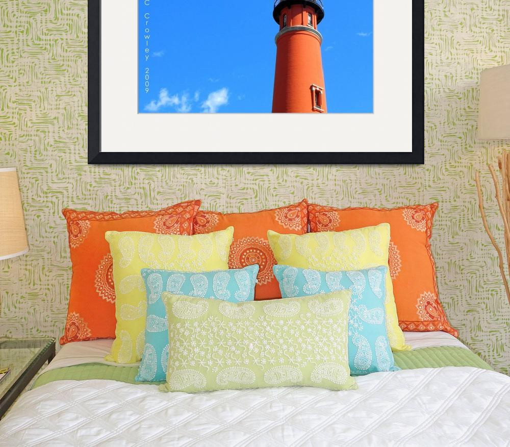 """""""Top Of the Ponce Inlet Lighthouse&quot  (2009) by ChrisCrowley"""