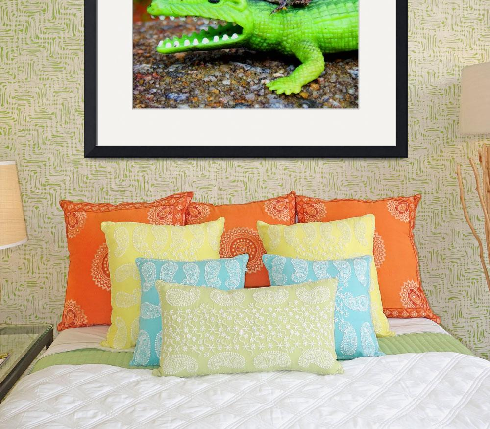 """""""Croc & Toad&quot  (2009) by cameras4kids"""